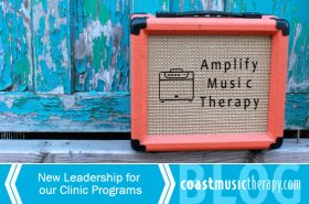 Amplify Coast Music Therapy Clinic Transition | San Diego 2016