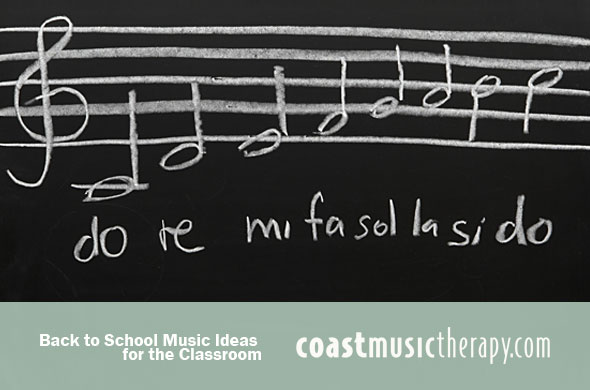 Back to School Music Ideas Blog