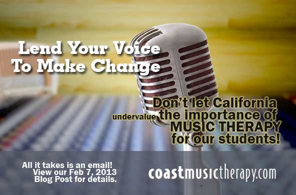 California Music Therapy IEP Call-to-Action