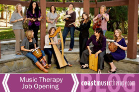 Coast Music Therapy San Diego Job 2015