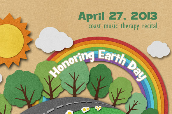 Coast Music Therapy Recital 2013 Earth Day
