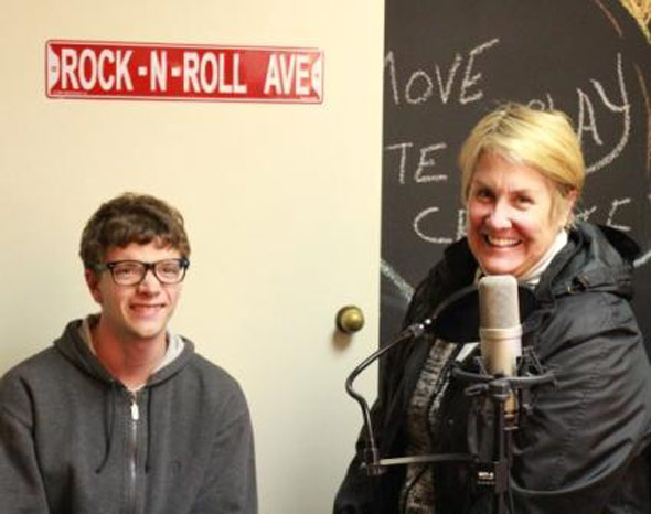 Voices of Autism - Curtis and his Mom with the SongStream Project - Coast Music Therapy
