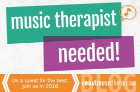 San Diego Music Therapy Job 2016| Coast Music Therapy