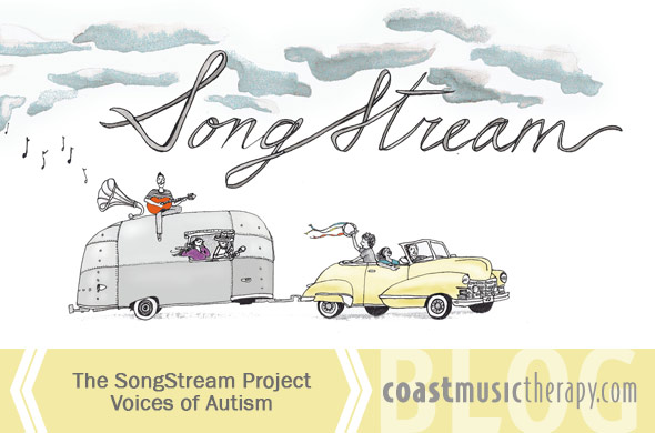 The SongStream Project Voices of Autism Podcast - Coast Music Therapy Blog