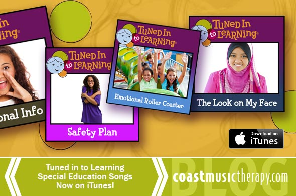 Tuned in to Learning Song on iTunes - Coast Music Therapy Blog