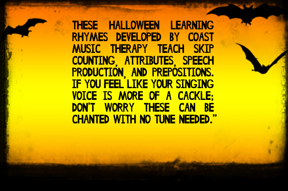 Educational Halloween Rhymes for Kids