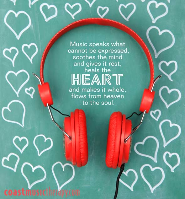 Music speaks what cannot be expressed - Quote | Coast Music Therapy Blog