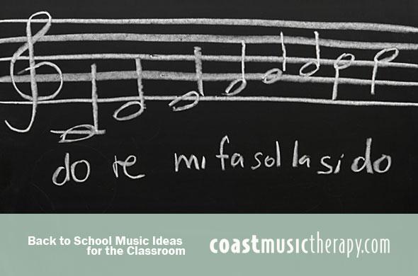 Back to School Music Ideas Blog