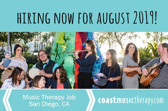 San Diego Music Therapy Job 2019 | Special Education