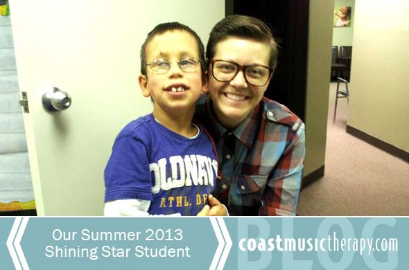 Summer 2013 Shining Star- Coast Music Therapy
